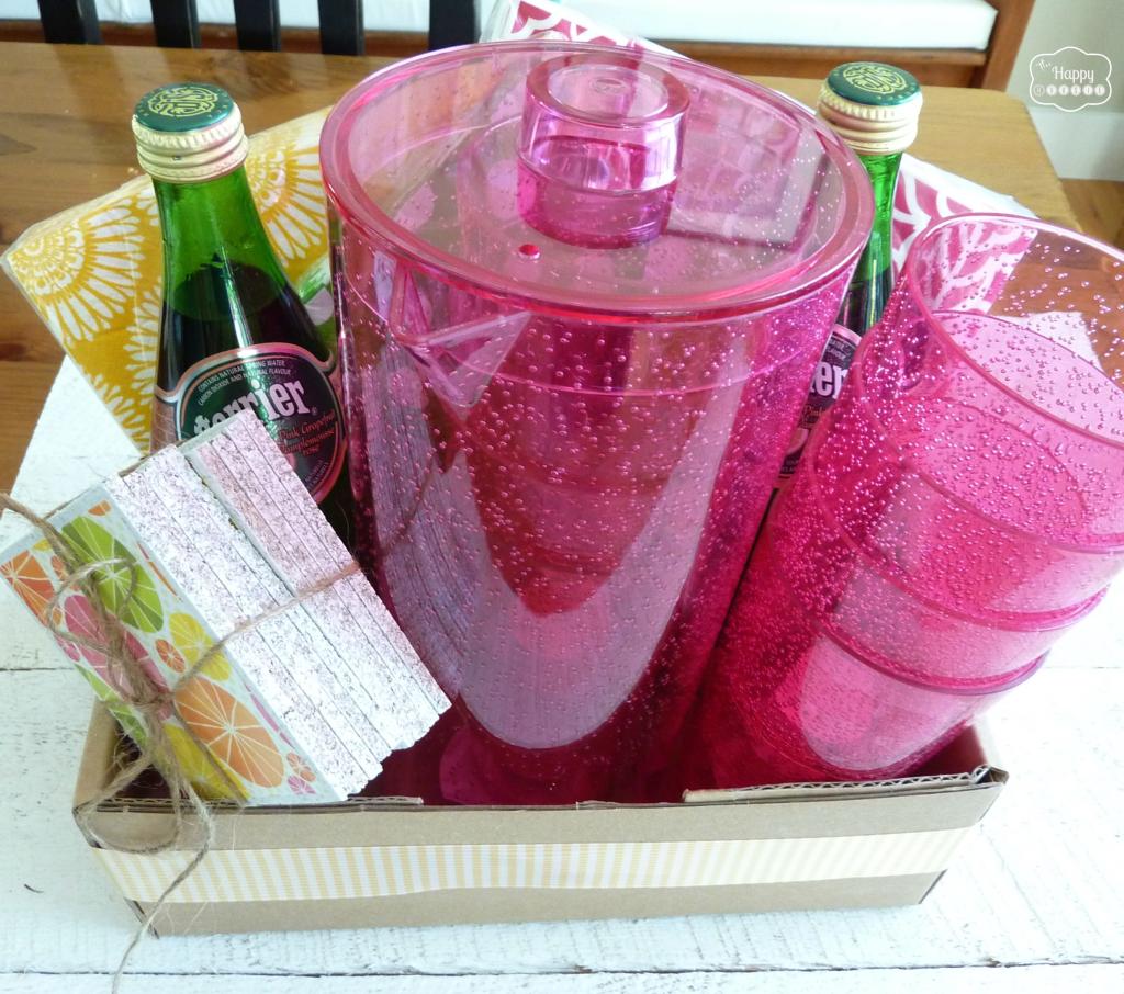 summer hostess gift idea at thehappyhousie