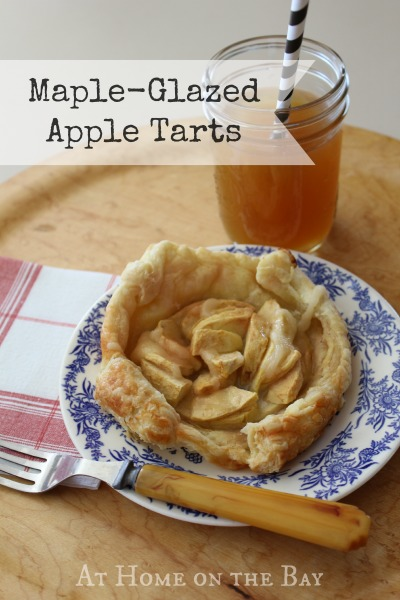 maple-glaced-apple-tarts