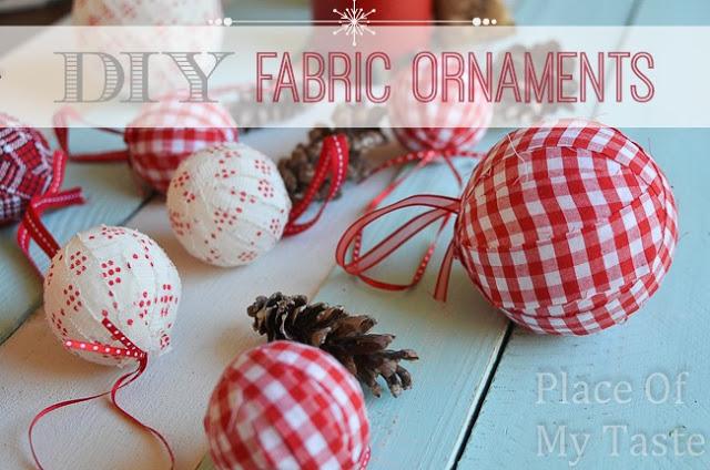 DIY fabric ornaments. @placeofmytaste.com (15 of 22)