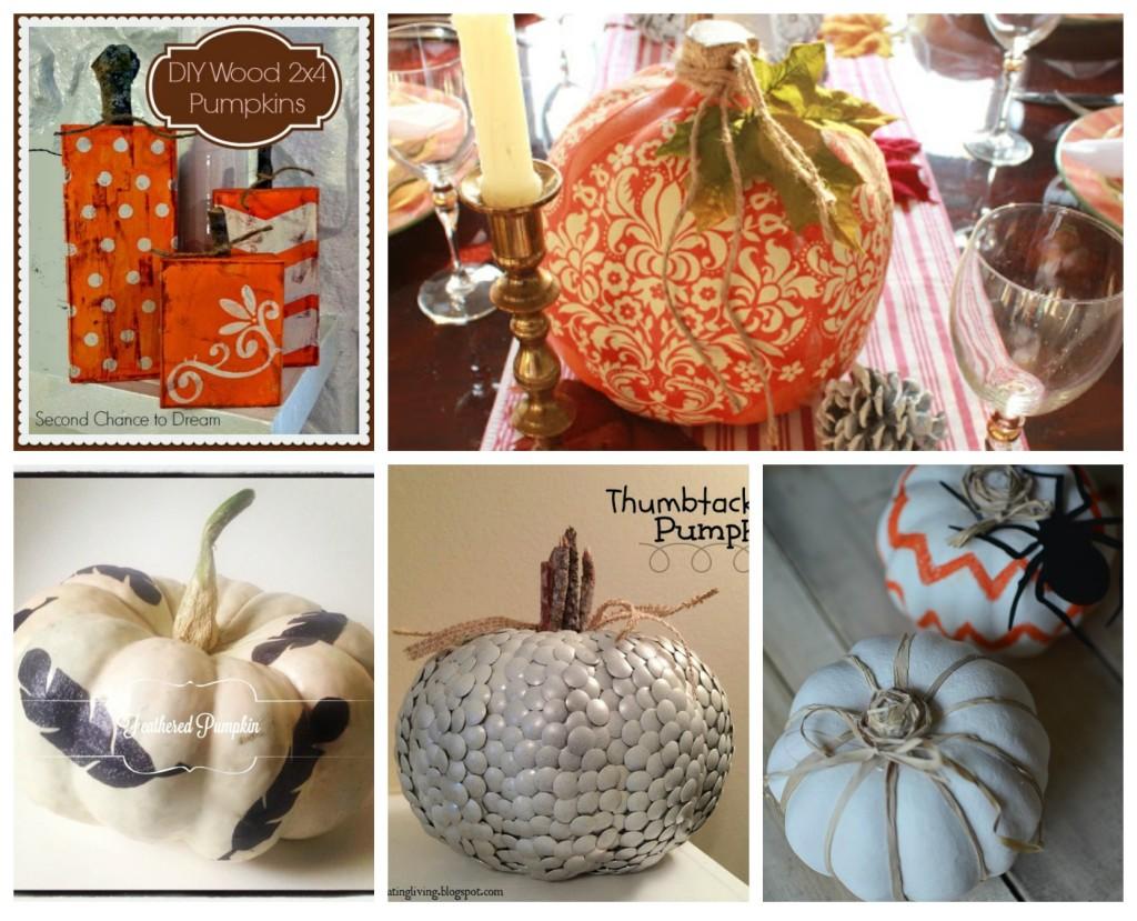pumpkin features collage
