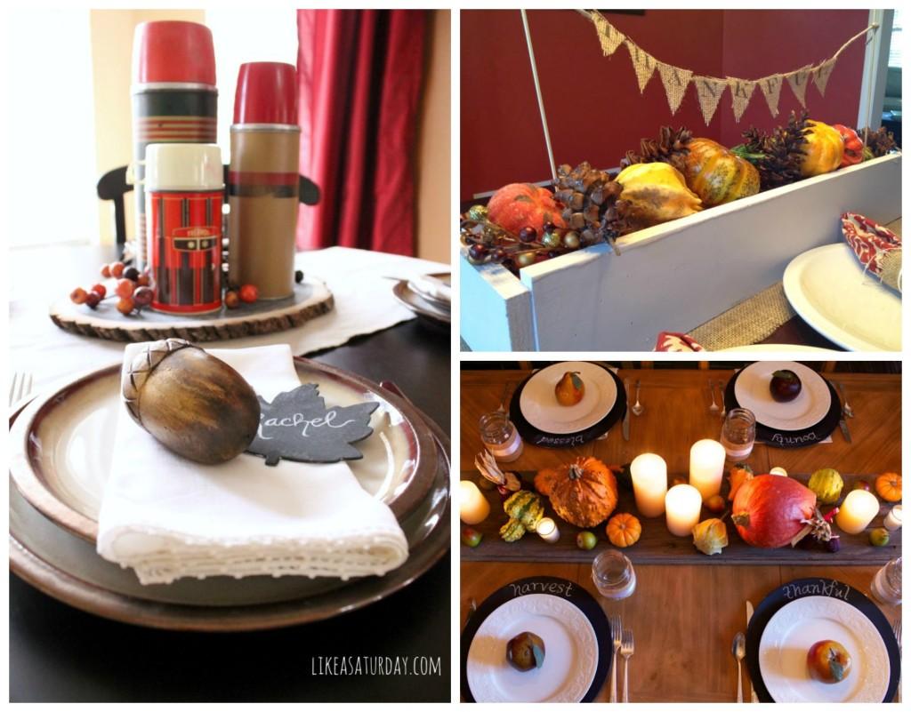 tablescape collage