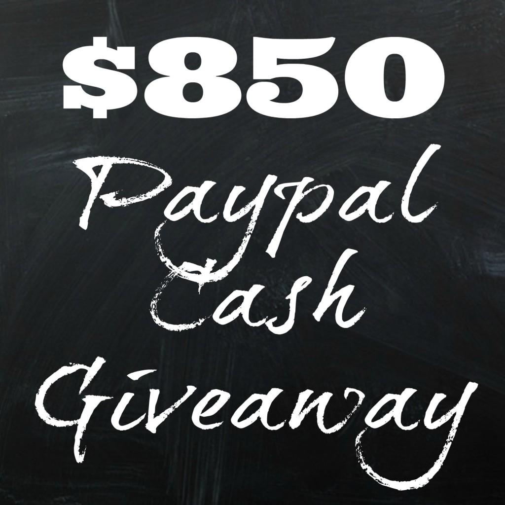 850 cash giveaway