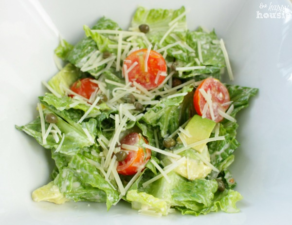 This Ain't Yo Mama's Caesar Salad dressed