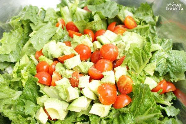 This Ain't Yo Mama's Caesar Salad salad