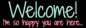 welcome sidebar