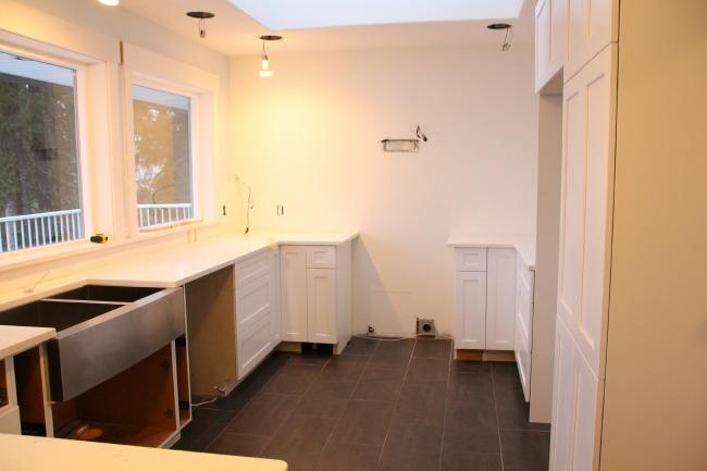 kitchen renovation mid way